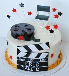 movie director cake