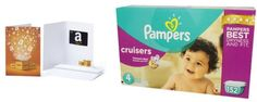 FREE $15 Amazon Gift Card with Purchase of Select Boxes of Pampers