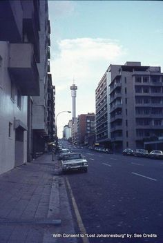 View north up Twist Street Hillbrow. Johannesburg City, Third World Countries, Orange Art, My Family History, Classic Italian, First World, South Africa, Landscape Photography, New York Skyline