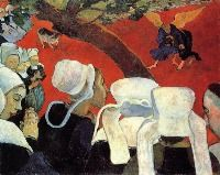 Paul Gauguin - Vision After the Sermon - 1888 - Impressionism