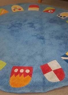 Kaufe meinen Artikel bei #Mamikreisel http://www.mamikreisel.de/kindermobel/kinderzimmer-dekoration/34198286-runder-sigikid-teppich-49882-neu