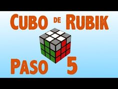 Resolver cubo de Rubik: Paso 6 - YouTube