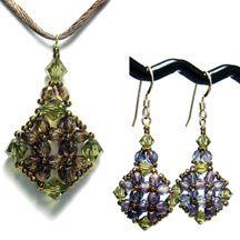 Isabella's Earrings & Pendant