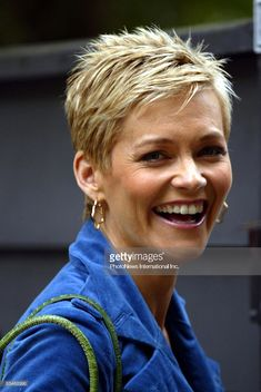 Jessica Rowe talks to reporters on June 30, 2008 in Sydney, Australia. Rowe was guaranteed by Eddie McGuire that her $500,000 a-year job as host on the 'Today Show' was safe as the network's staff retrenchments begin to take effect.