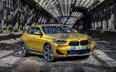 Download wallpapers BMW X2, 4k, 2018 cars, new X2, crossovers, BMW