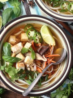 Easy Vegan Pho - I just made this and it tastes better and is much simpler to make than a more complicated version i tried