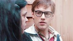 """My Mad Fat Diary, season 1, episode 1, """"Big Wide World,"""" aired 14 January 2013. Rachel """"Rae"""" Earl is played by Sharon Rooney and Archie is played by Dan Cohen. Archie: """"Come on. Let's stay here and chat. I don't fancy a swim."""" Rae: """"Why not?"""" Archie: """"I don't really wanna talk about it."""" Rae: """"Tell me."""" Archie: """"No. You'll laugh."""" Rae: """"Maybe."""" Archie: """"Um... Well, eh --. I've got spots on my back. Like, back acne."""""""