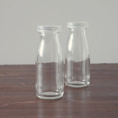 Glass milk bottles. We had glass milk bottles in first grade. When someone dropped one, there'd be the crash and then complete silence in the cafeteria.
