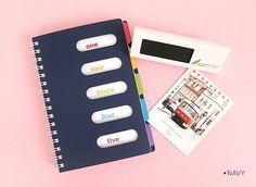 Colorful Index Mini Notebook v2