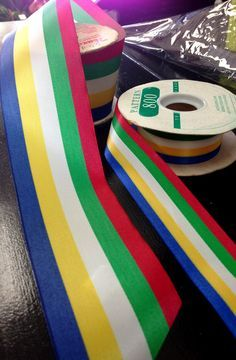 We are looking to source more of this specialty ribbon for The Order of the Eastern Star, the largest fraternal organization in the world to which both women and men may belong. We are on our last two rolls!