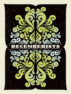 Decemberists Poster