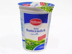 BUTTERMILK CASERA:  Manera 1:1 taza de buttermilk ( ó¾ taza de yogur natural y ¼ taza de leche). Manera 2: 250 ml. de leche entera tibia si es posible El zumo colado de medio limón Echar el zumo de limón a la leche. Revolver y dejar reposar durante 10 minutos a temperatura ambiente. Tendrá la apariencia de leche cortada o yogur muy líquido. Ésta es la textura que queremos obtener, revolverla y utilizarla directamente. No es necesario colarlo.