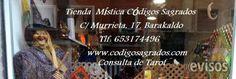 Tienda Mística Codigos Sagrados  Tienda Esotérica Consultas de Tarot Venta de inciensos, ve ..  http://barakaldo.evisos.es/tienda-mistica-codigos-sagrados-id-695539