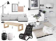 3 estancias y 3 estilos. Get the look si te gustan. Las claves y las piezas, en el blog: http://www.micasanoesdemuñecas.com/3-estancias-y-3-estilos/