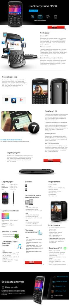 Comprar blackberry curve 9360 | venta de celular blackberry curve 9360 3g Argentina
