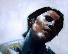 """""""Veronica 2"""" - Acrylic on canvas - 50cm x 40cm - Benjamin García"""