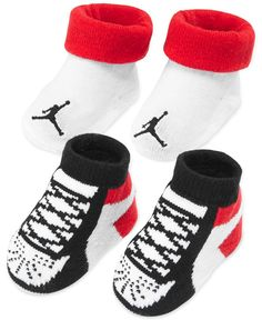 new product a01a0 0c51d Jordan Baby Boys  2-Pack Booties