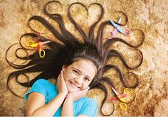 SHINEQUA Szombathy, 10, says she wants to put her hair to good use. Having had her tresses trimmed only twice in her life, next month Shinequa is prepared for major restyling in aid of the World's Greatest Shave, raising money for people with blood cancer. Picture: David Sickerdick Picture: David Sickerdick