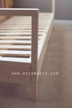DIY COUCH. How to build your own couch. #diy #furniture www.osiemoats.com: