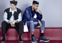 Fault magazine  Photographer: Euan Danks  Stylist – Louana Carron  Grooming – Jason Crozier