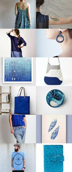 Blue Week II by Jesús Ochando on Etsy--Pinned with TreasuryPin.com