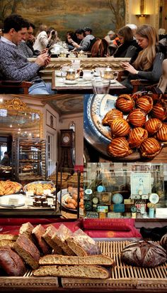 Paris. The cafe's are a must visit. Yummy.