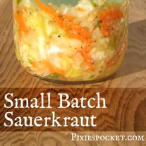 For when you need just a little bit of kraut!
