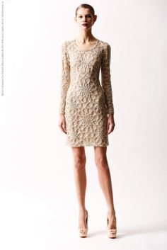 Klara Urbanova for Naeem Khan lookbook (Pre-Fall 2014) photo shoot #KlaraUrbanova #Lookbook