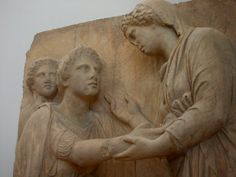 In Ancient Greece the hospitality was considered an act of virtue . Foreigners protected by the host Zeus and Athena Xenia , like the Dioscuri Castor and Pollux . Castor And Pollux, Classical Period, Greek Music, Simple Minds, Ancient Civilizations, Ancient Greece, Art And Architecture, Folk, Sculptures