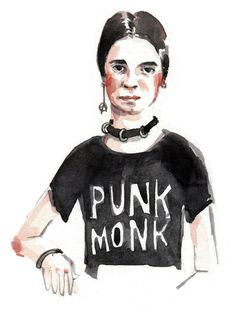 Punk Rock Emily Dickinson, by Wendy MacNaughton for California Bookstore Day and Chronicle Books