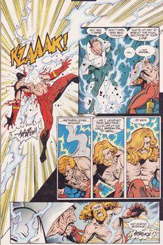 Flash # 156 | Written by Mark Waid and Brian Augustyn, pencils by Paul Pelletier