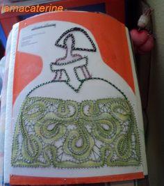 Menina de encaje de bolillos Bobbin Lace, String Art, Lunch Box, Patches, Dolls, Wall Art, Ideas, Ballerina, Toddler Girls