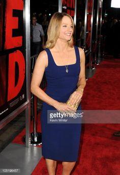 Новости фото : актриса Джоди Фостер прибывает в специальных...