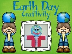 This free project is perfect for Earth Day. It includes a reproducible template (including stationary) that can be copied for your students to color and cut out. It also includes the complete assembly directions with step by step photos.