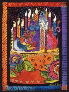 """""""You Shine Brighter"""" by Laurel Burch"""