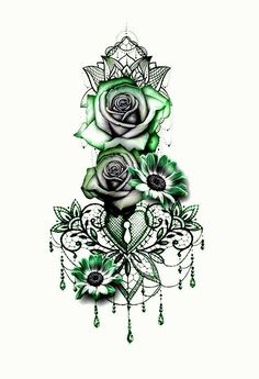 Rose Tribal Rose Tattoos, Wolf Tattoos, Tattoo Studio, Model Airbrush, Anker Tattoo, Sister Tattoos, Mandala Tattoo, Future Tattoos, Shoulder Tattoo
