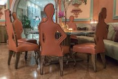 Farbenfrohes #Design im Hotel Eden Roc in Ascona #edenrocascona #edenmoment #CarloRampazzi Design Hotel, Das Hotel, Dining Chairs, Hotels, Furniture, Home Decor, House, Switzerland, Decoration Home