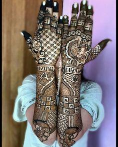 Dulhan Mehndi Designs, Mehendi, Bridal Mehndi, Blue, Fashion, Moda, Fasion, Trendy Fashion, La Mode