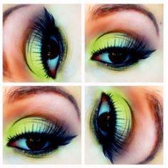 Green eye makeup #eyemakeup #eyes #makeup