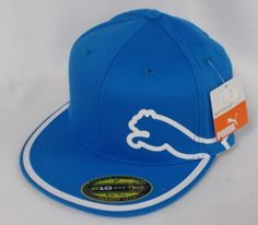 38a1e9c9a43 New Puma Monoline 210 Fitted Hat Brilliant Blue Select Size. Golf OutfitThe  Selection