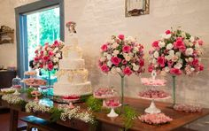 wedding cake, table decor