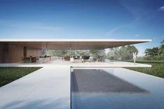 House in Sotogrande by Fran Silvestre Arquitectos - Modern Villa Design, Modern House Design, Modern Glass House, Design Design, Design Trends, Minimalist Architecture, Minimalist Interior, Interior Architecture, Interior Design