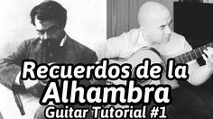 Recuerdos de la Alhambra or Memories of the Alhambra is an iconic piece in the classical guitar repertoire. As a solo piece I rank it next to the Concierto d. Classical Guitar Lessons, Guitar Tutorial, Playing Guitar, Sheet Music, Memories, Concert, Memoirs, Souvenirs