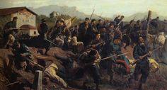 Garibaldini cacciatori delle alpi sottufficiale 1949 - San michele a porta pia ...