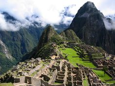"Machu Picchu Just moved from the ""Places I'd like to Go"" to the ""Places I've Been"" board"