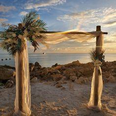 #beachwedding #destinationwedding #ceremonyarch #weddingarch Florida Wedding Venues, Wedding Locations, Destination Wedding, Beach Ceremony, Ceremony Arch, Beach Weddings, Simple Weddings, Clearwater Beach, Florida Beaches