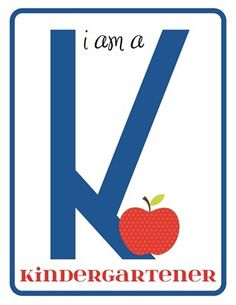grade level signs. print and have kids hold for first day of school pics :)