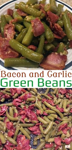 This simple recipe is so easy to make, yet tastes so good! The green beans cooked in the bacon drippings and garlic really gives this dish an awesome flavor! For the recipe, visit us here: http://www.grubheaven.com/recipe/bacon-garlic-green-beans/