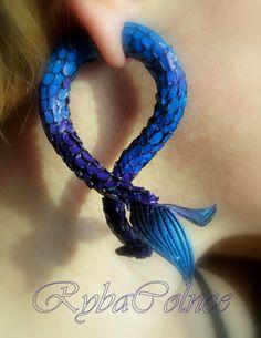 Falsos medidores de tentáculo de oído  la sirena