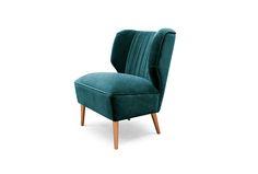 BAKAIRI | Modern Upholstered Armchair by BRABBU